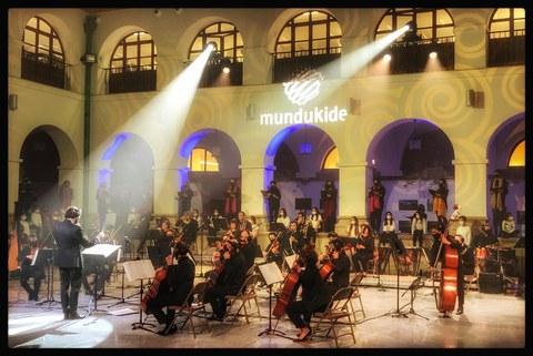 Mundukide reúne a artistas de primer nivel en el Concierto de Navidad