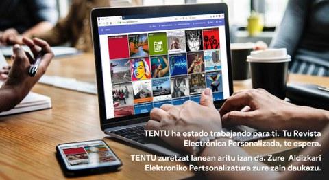 Nace TENTU, la revista electrónica personalizada