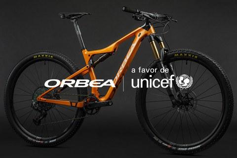 Orbea organiza una subasta solidaria para apoyar a UNICEF