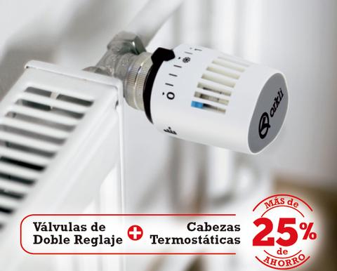 Orkli presenta la nueva gama de válvulas termostáticas de doble reglaje