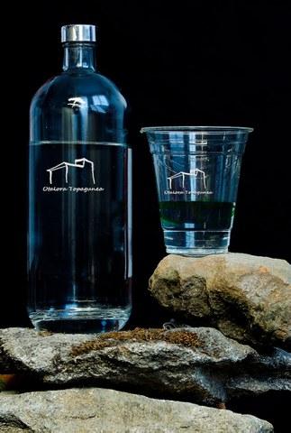Otalora prescinde de las botellas de plástico