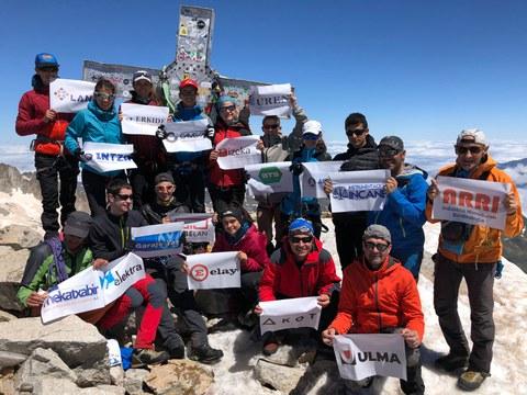 'Oxigenoa euskarari 6.000 metroan ere'