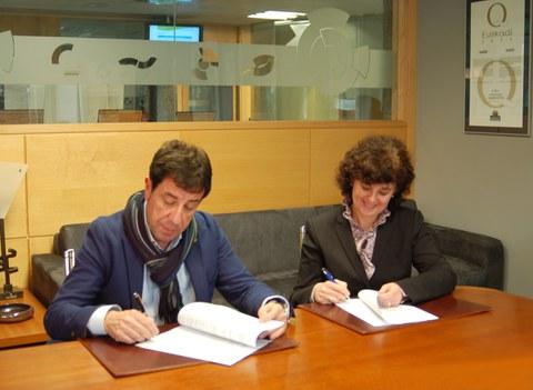 Politeknika Ikastegia Txorierri y el Centro Tecnológico GAIKER-IK4 firman un convenio de colaboración