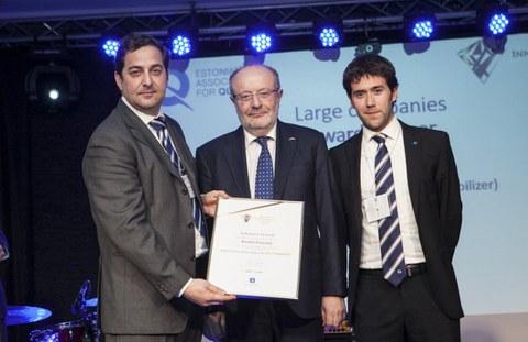 "Premio ""Quality Innovation of the year"" para el sistema DAS de Soraluce"