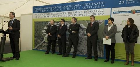 Presentada la ampliación del parque tecnológico de San Sebastian con Orona como principal impulsor