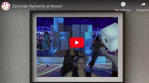 Primer aniversario de 'Humanity at Music, Sinfonia Kooperatiboa'