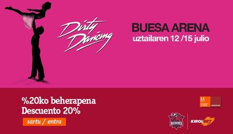Promoción especial para ver el musical Dirty Dancing