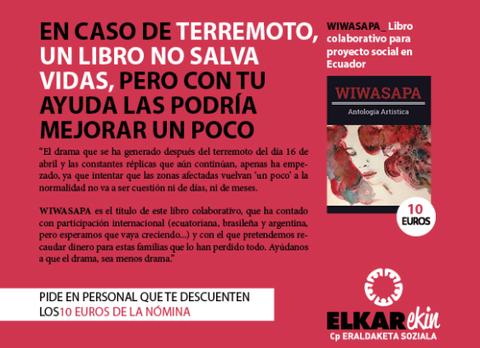 Proyecto solidario de Copreci con las víctimas del terremoto de Ecuador