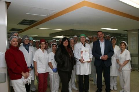 Reconocimiento internacional a Ausolan Auzo Lagun y al Hospital Universitario Doctor Peset de Valencia