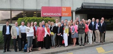 Representantes de entidades bancarias cooperativas de EEUU visitan MONDRAGON