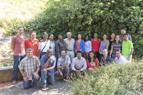 Representantes de MIT, Massachusetts Institute of Technology, de visita en MONDRAGON