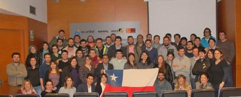 Representates institucionales de Chile visitan Lea Artibai Ikastetxea