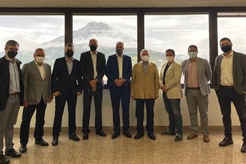 Reunión de la Comisión de Grupos Empresariales de Cepes en MONDRAGON