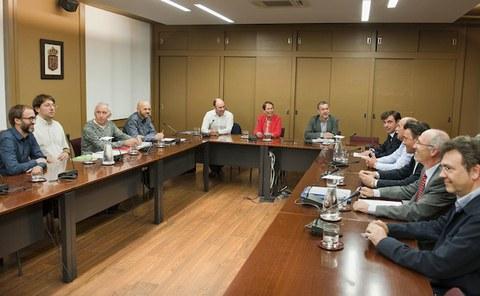 Reunión entre CEPES y el Gobierno de Navarra