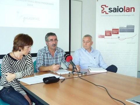 Saiolan y el Ayuntamiento de Arrasate presentan el programa de becas para nuevos titulados