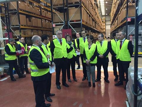 Sareteknika inaugura un nuevo almacén con capacidad para gestionar 60.000 referencias originales