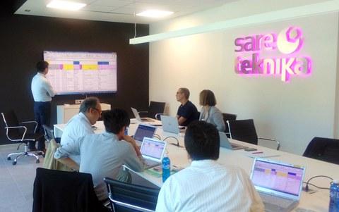Sareteknika recibe la visita del equipo técnico de Panasonic en Europa y Japón