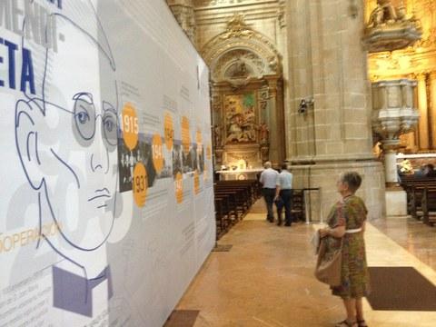 Se ha inaugurado una exposición sobre José María Arizmendiarrieta en Donostia
