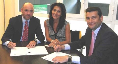 Seguros Lagun Aro firma un acuerdo de colaboración con el Colegio de Mediadores de Seguros de Gipuzkoa