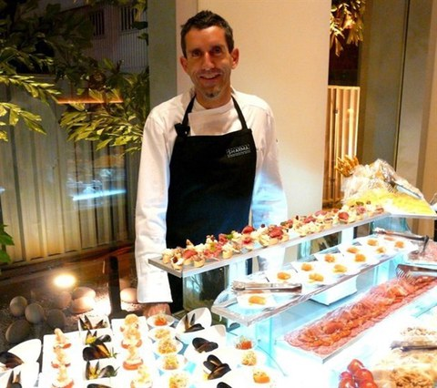 Sharma, catering gourmet de Ausolan, desembarca en Madrid