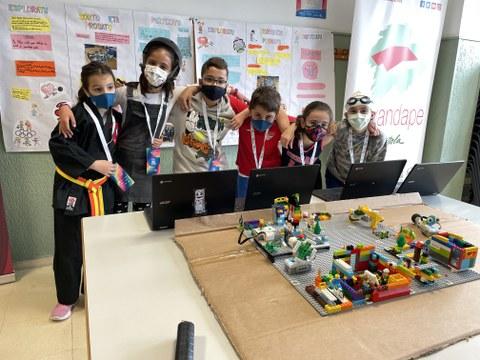 Éxito de FLL Euskadi-MONDRAGON: categoría Explore