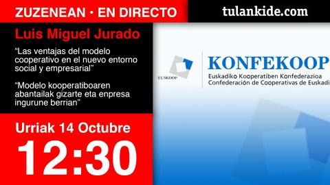 Sigue en directo la ponencia de Luis Miguel Jurado