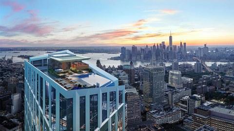 Soluciones ULMA en el edificio más alto de City Point, Brooklyn, EEUU