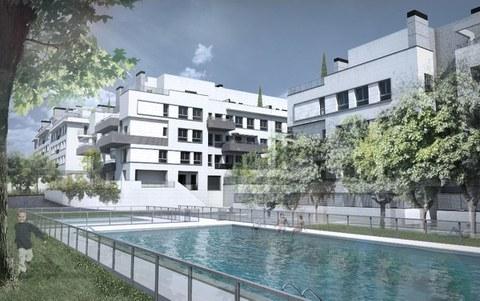 Suelo Radiante ORKLI en el conjunto residencial Aravaca II de Madrid