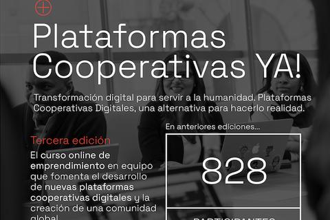 """Tercera edición de """"Plataformas Cooperativas ¡Ya!"""""""