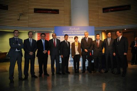 Transformar la innovación en productos competitivos, reto para las empresas tractoras en Euskadi