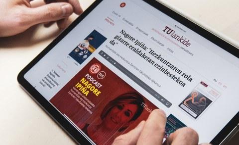 TU Lankide reestrena su sitio web