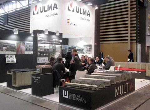 ULMA Architectural Solutions presenta sus soluciones de drenaje en el Salón Pollutec de Lyon