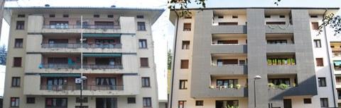 ULMA Architectural Solutions rehabilita fachadas en Oñati mejorando su imagen y solucionando problemas de humedades