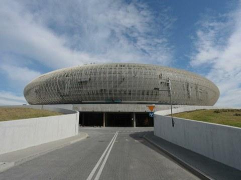 ULMA Architectural Solutions suministra canales de drenaje en el mayor estadio de Polonia
