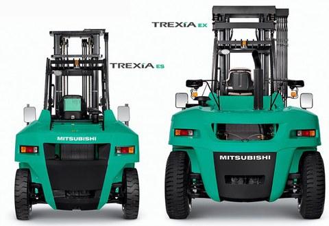 ULMA Carretillas Elevadoras presenta al mercado la nueva gama de contrapesadas diesel TREXiA de Mitsubishi