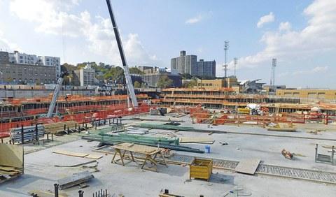 Ulma Construcción suministra material para un centro comercial de Manhattan