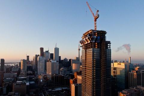 ULMA Construction en el edificio residencial más alto de Canadá