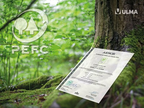 ULMA Construction obtiene el certificado PEFC en reconocimiento a su compromiso con el medio ambiente