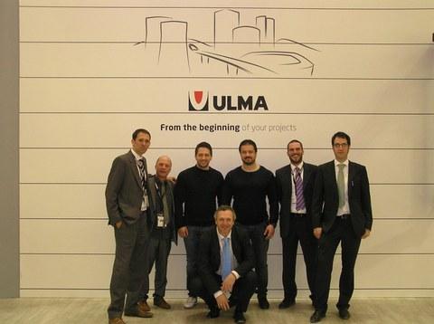 ULMA Conveyor presente en la Feria BAUMA 2013