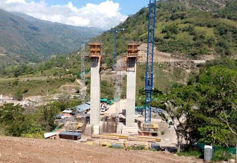 Ulma diseña soluciones para el puente más largo de Sudamérica
