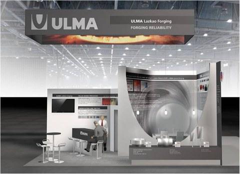 Ulma Lazkao Forging estará presente en la feria de Hannover