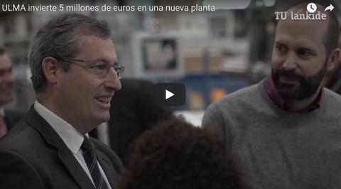 ULMA Packaging inaugura una nueva planta de producción