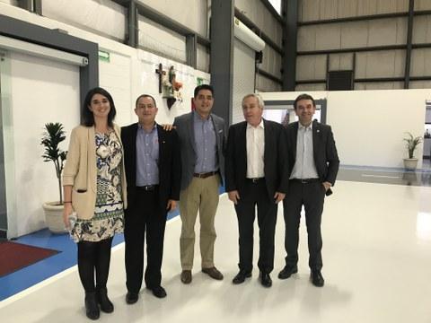 Una delegación de MONDRAGON visita ERREKA-México