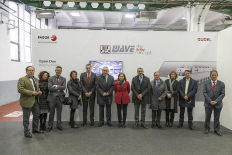 Una delegación del Gobierno de España visita Fagor Arrasate