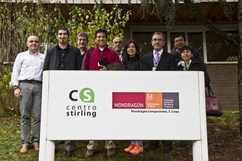 Una delegación del Gobierno de Perú visita MONDRAGON