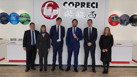 Una delegación del Gobierno Vasco visita las instalaciones de Copreci en Kunshan
