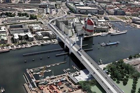 Urssa participa en el gran proyecto del puente levadizo de Hisingsbron (Suecia)
