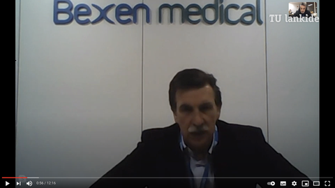 """""""Bexen medical dispone de capacidad suficiente para almacenar y distribuir vacunas para todo el Estado"""""""