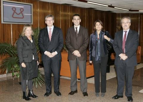 Visita del Comisario de Empleo de la Comisión Europea