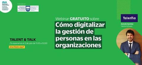 Webinar sobre cómo digitalizar la gestión de personas en las organizaciones